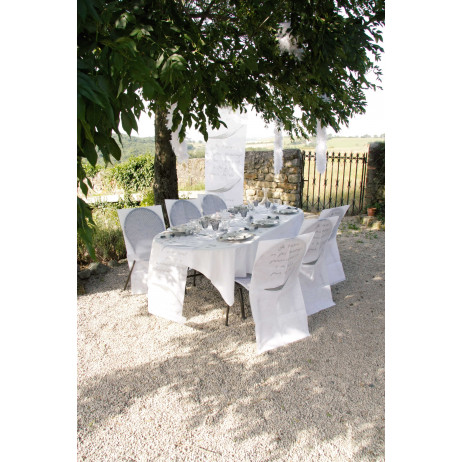 Ambiance tenture mariage je t'aime