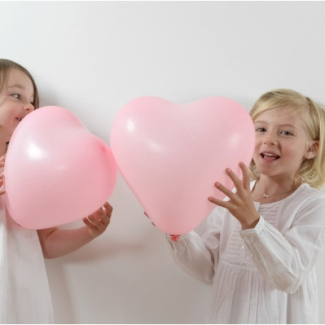 Ballon Gonflable Coeur Rose