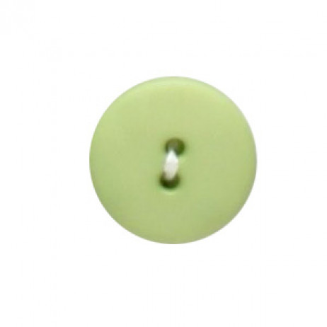 Bouton à coudre Vert anis 18mm x 4