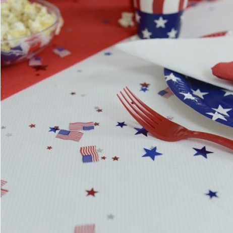 Confettis de de table USA