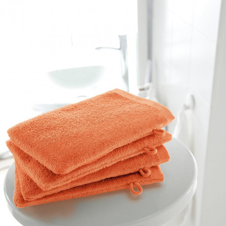 ant de toilette Orange 100% coton