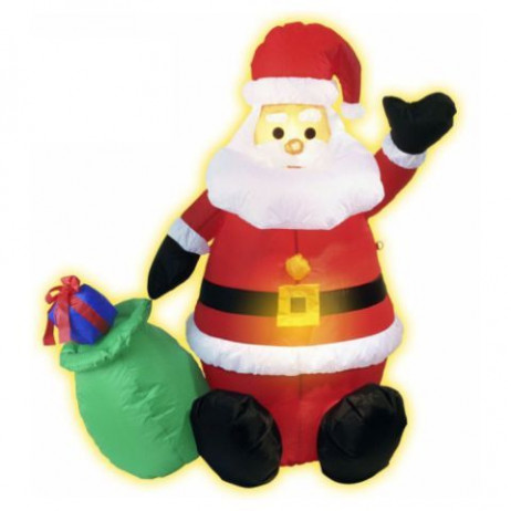 Pere Noel Gonflable lumineux 120cm