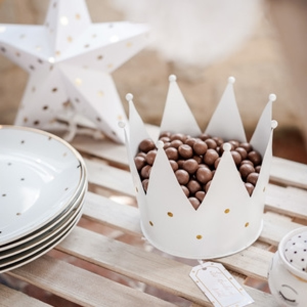 Centre De Table Couronne De Princesse Decoration Mariage