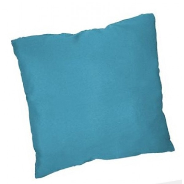 coussin d co bleu turquoise coussin 40x40 pas cher badaboum. Black Bedroom Furniture Sets. Home Design Ideas