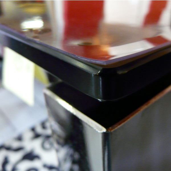 Acheter Table Basse Transparente ~ Prot?ge Table Transparent 100 100, Nappe De Table PVC  Badaboum