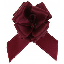 Noeud satin automatique Bordeaux
