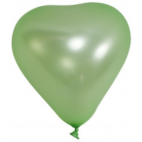 Ballon gonflable Coeur Vert anis 20cm