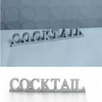 Centre de table Cocktail Argent