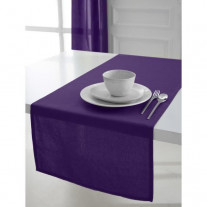 Chemin de table coton Violet 50x150cm