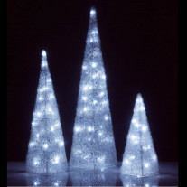 Arbre lumineux led arbre de noel artificiel badaboum for Sapin artificiel exterieur