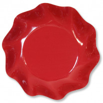 Coupelle en carton design Rouge vague