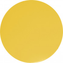 Set de table rond Jaune Citron 35 cm