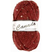 Laine pas cher Lammy Canada tweed Bordeaux