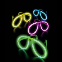 Lunette fluo lumineuse mariage