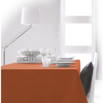 Nappe rectangle Orange 150x250 100% polyester