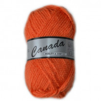 Pelote de laine Canada Lammy Yarns Orange