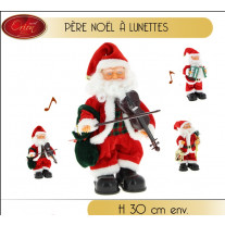 pere noel musical automate