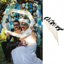 photobooth mariage moustache