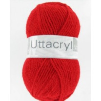 Fil à tricoter Cheval Blanc Uttacryl Coquelicot