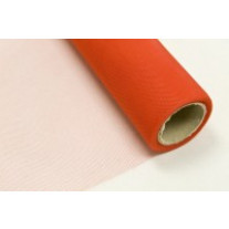 Rouleau de tulle souple 150cm x 25m Orange