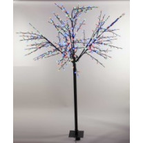 Arbre lumineux lumineux 600 LED Multicolores COLOUR CHANGING