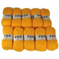 Pelote de laine Eko Fil  Orange Pulpe