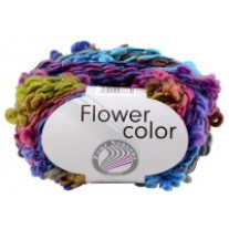 Pelote de laine Flower Color Grundl Rainbow