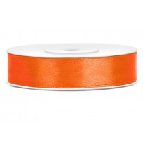 Ruban satin 12mm Orange