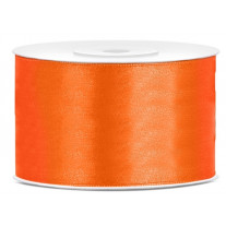 Ruban satin 38mm Orange