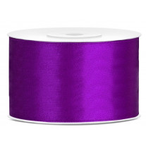Ruban satin large Violet 38mm