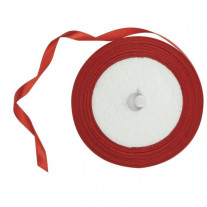 Ruban Satin Rouge 6mm x 25m