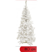 sapin de noel artificiel blanc 180 cm pas cher. Black Bedroom Furniture Sets. Home Design Ideas