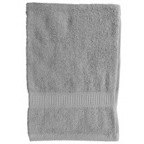 Serviette de Toilette Gris Clair en 100 % coton TODAY
