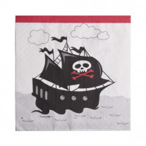 Serviette en papier Pirate