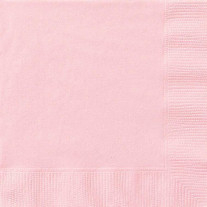 Serviette papier rose pale