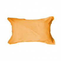 Taie d'oreiller 50x70 rectangulaire Orange