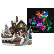 village de noel miniature pas cher train de noel badaboum. Black Bedroom Furniture Sets. Home Design Ideas