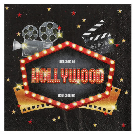 Serviette en papier Hollywood
