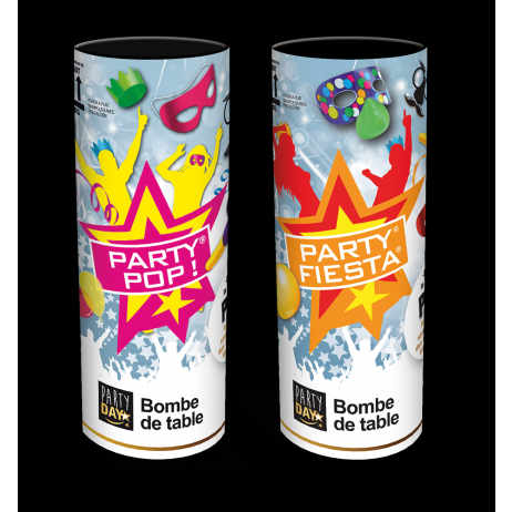 Bombe de table pour fiesta