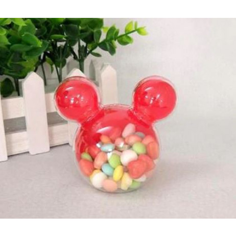 contenant mickey pas cher rouge