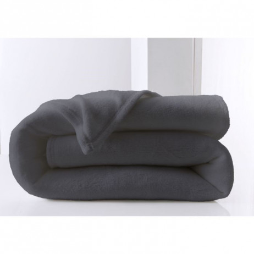 couverture de canap moelleuse gris fonc 220x240 today. Black Bedroom Furniture Sets. Home Design Ideas