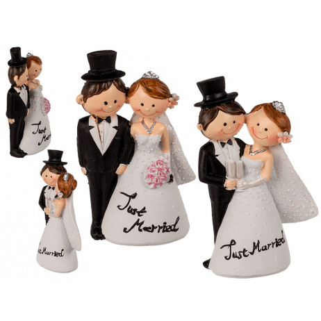Figurine mariage Just Married