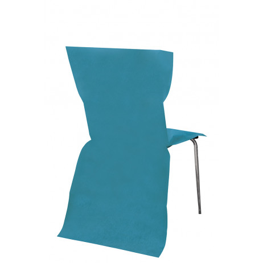 Housse de Chaise Turquoise x 6 pièces