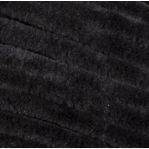 Bambi Katia pelote de laine chenille Noir