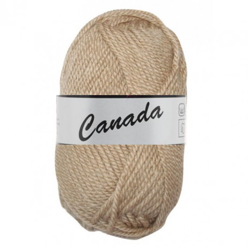 Pelote de laine Canada Lammy Yarns Marron CLair