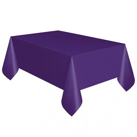 nappe en plastique rectangulaire violet nappe pas cher. Black Bedroom Furniture Sets. Home Design Ideas