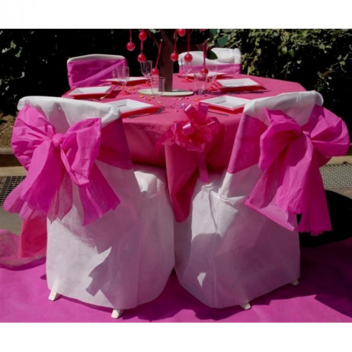 nappe ronde jetable 240 cm chocolat nappe mariage badaboum. Black Bedroom Furniture Sets. Home Design Ideas