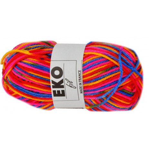 Pelote de laine Eko Fil Carnaval