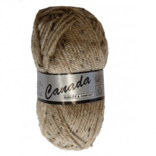 Pelote de laine Lammy Canada Tweed Beige