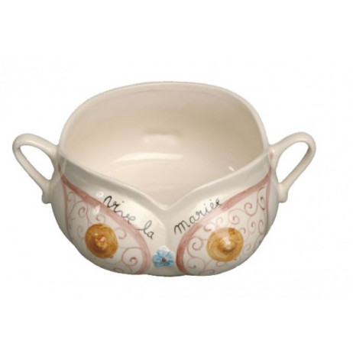 Pot de Chambre Vive la Mariée en porcelaine